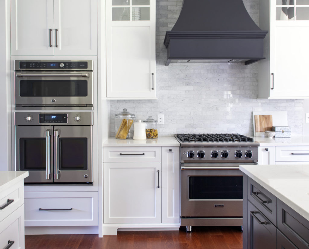 Stainless steel appliances will fuel your cooking and baking needs for years to come.