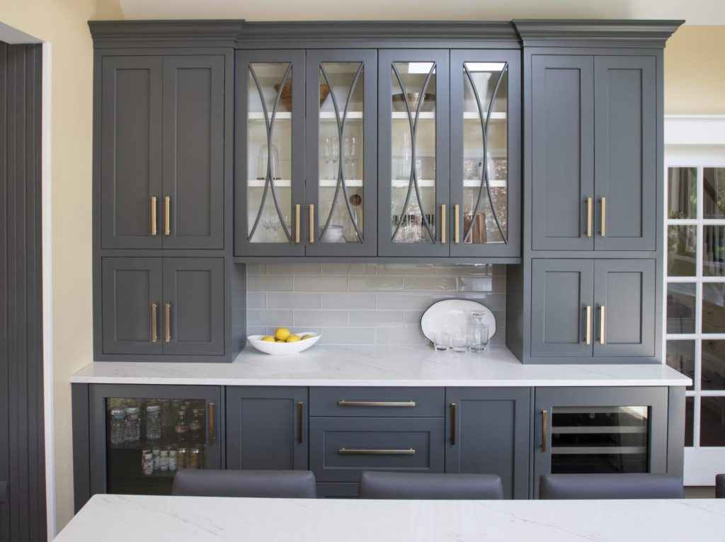 Cabinetry adds practical storage to your kitchen remodel.