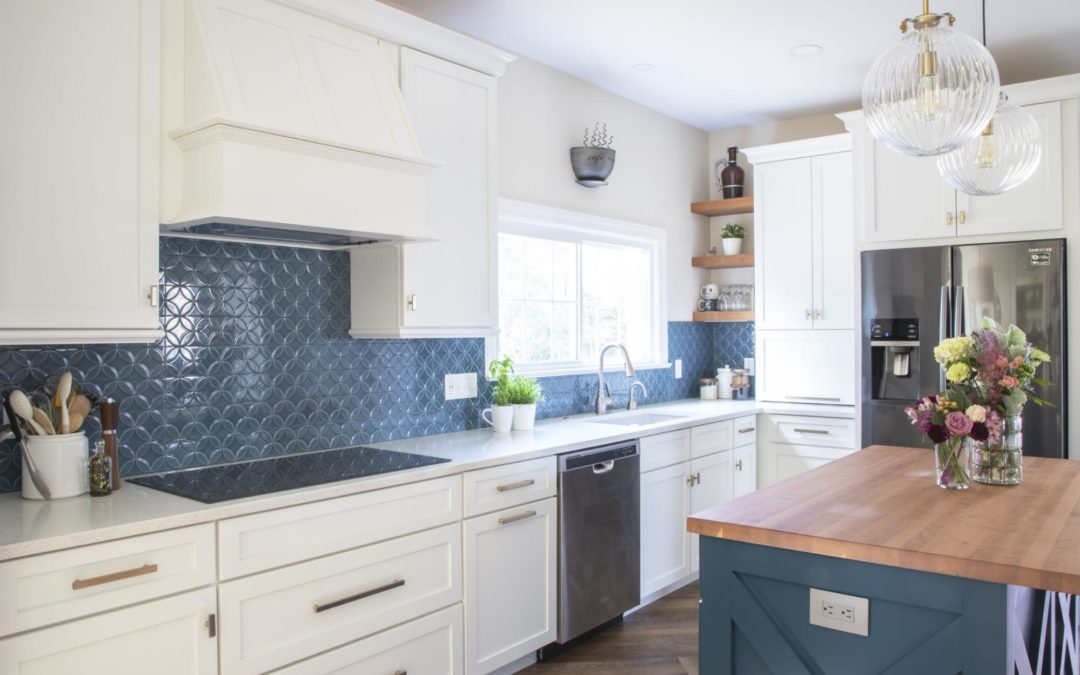 A small kitchen can feel much bigger with a few simple updates.