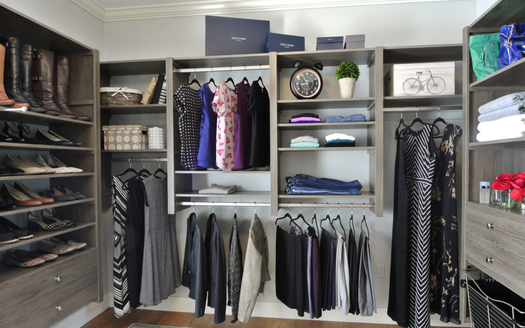 Learn how to organize a closet that is beautiful and functional.